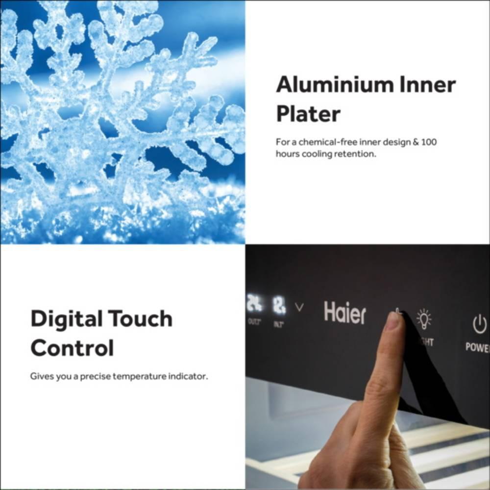 Haier SF-196 155L Digital Snow Chest Freezer Peti Beku with R600a Refrigerant