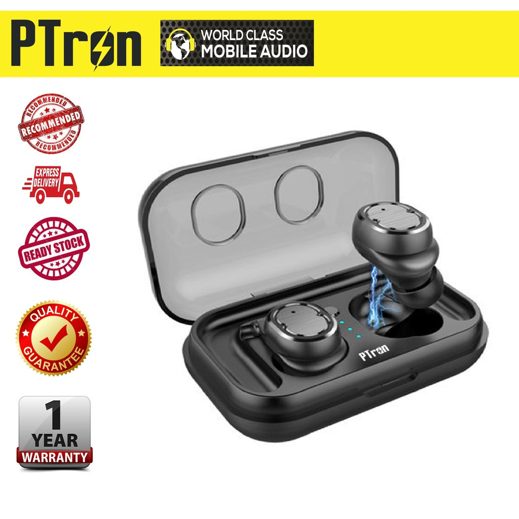 PTron Spunk, Wireless Waterproof Twins
