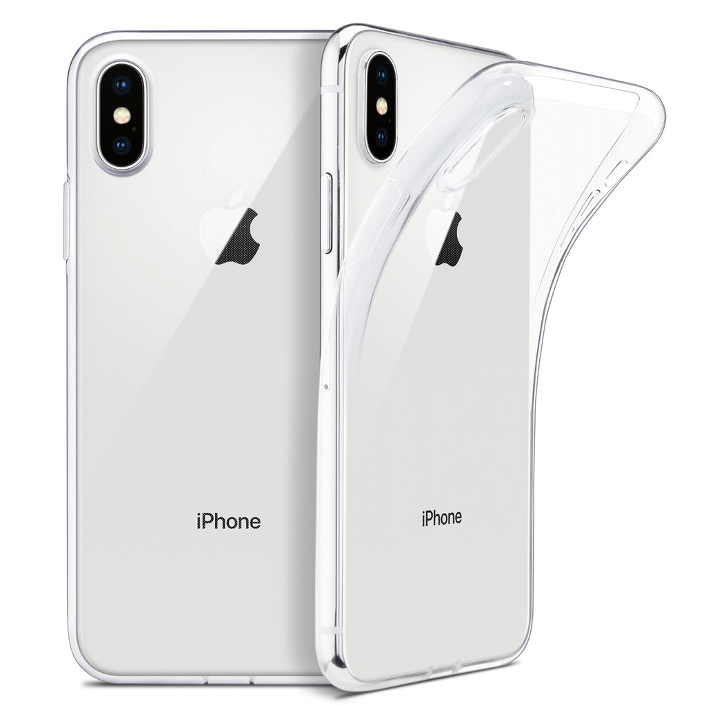 Casing IPhone XS Max X 6s XR 7 8 6 Plus 5 5s SE Apple Cover Clear Soft Case