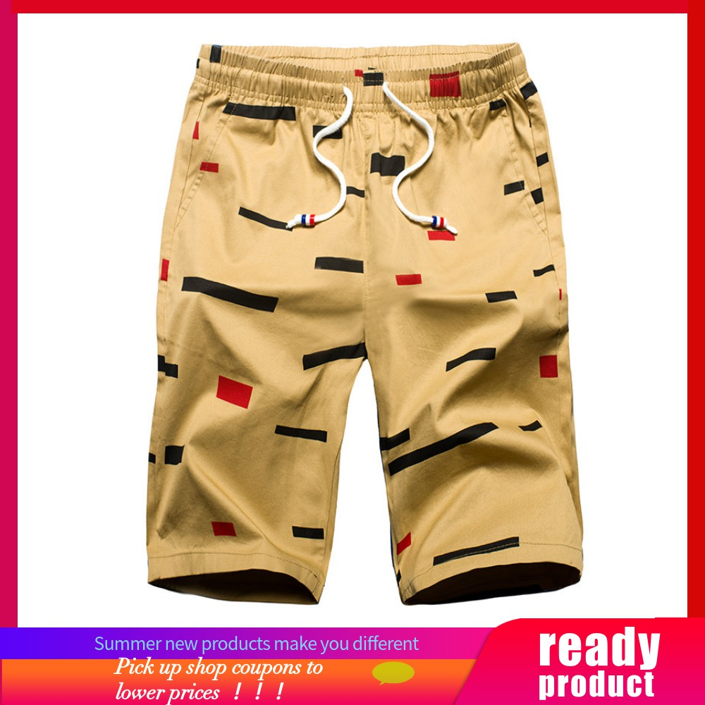 f7284aa04b ProductImage. ProductImage. Men's Summer Casual Fashion Pure Cotton Striped  Beach Shorts