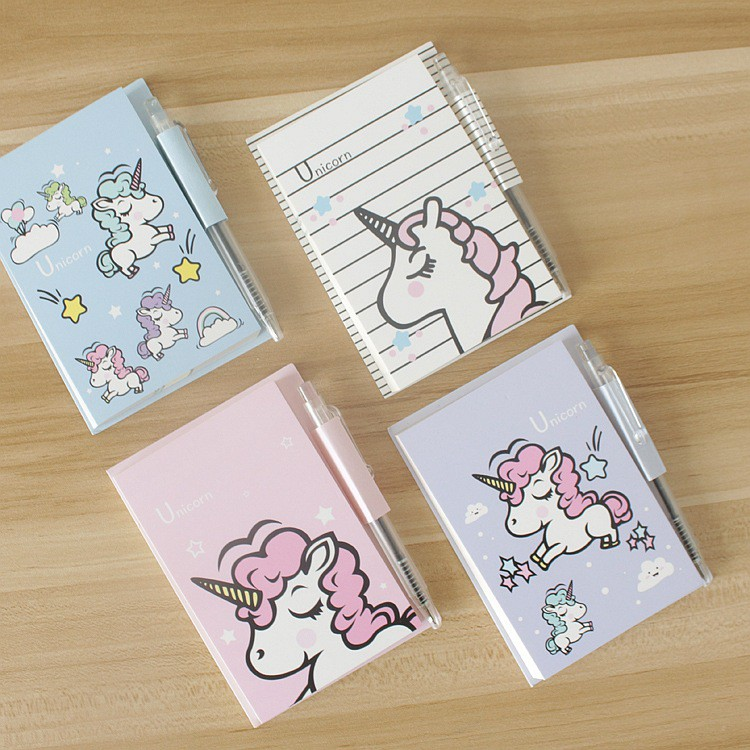 Unicorn Cute Colourful Notebook School Office Stationary Note Book