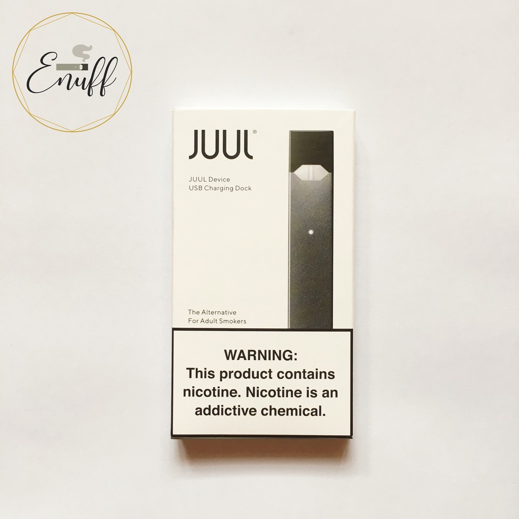 ORIGINAL JUUL Device Starter Kit, Device Only OR as Set with Pods (8  Flavours)