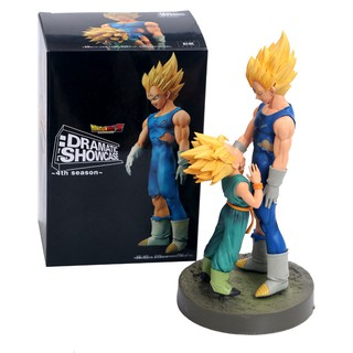 Dragon Ball Z Goku Super Saiyan Awakening Gohan Father Trunks Vegeta Pvc Anime Figure Dbz Collection Model 17cm Toys & Hobbies