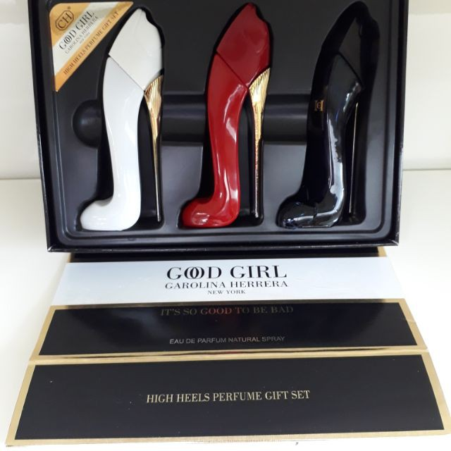 Carolina Herrera Good Girl Perfume Set 3in1 25x3ml Shopee Malaysia