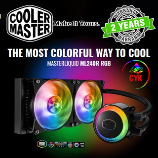 Cooler Master MasterLiquid ML360R RGB Dual Chamber Pump CPU Liquid Cooler