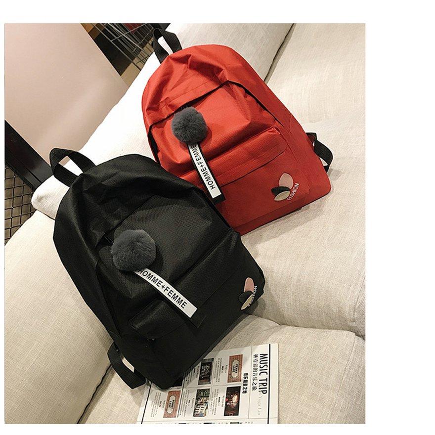c6aac9e70f82 Women Canvas Backpack Casual Shoulder Bag Soft Backpack Outdoor Travel Bag