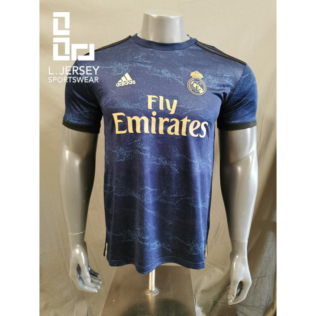 Real Madrid Men Away Season 19/20 CLIMALITE Fans Jersey
