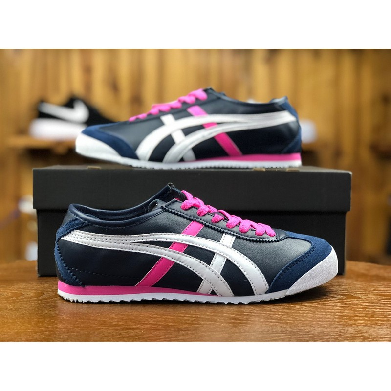 best authentic 5a692 2d35b Bapai Asics shoes Onitsuka Tiger MEXICO 66 Women's Sports Shoes running  shoes Casual shoes
