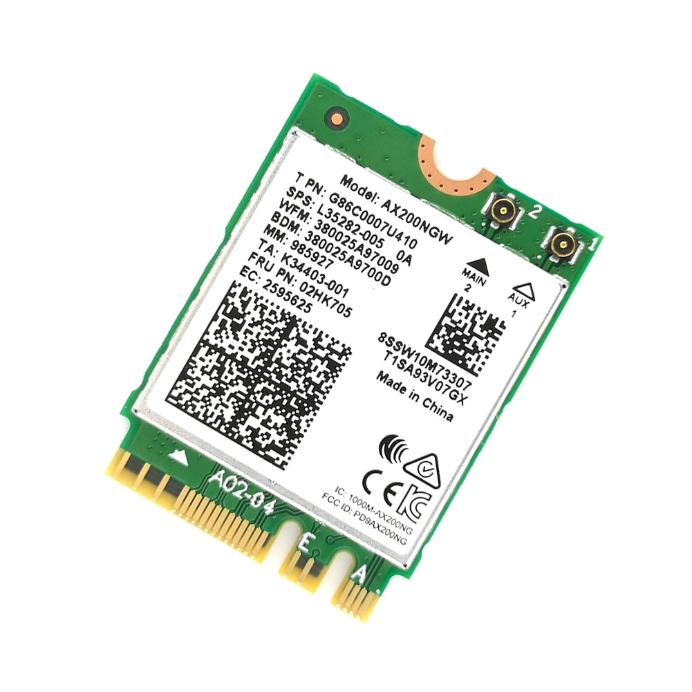 Built-in Wireless Detachable High Speed Network Card Dual Band For Intel  AX200 Better 9260