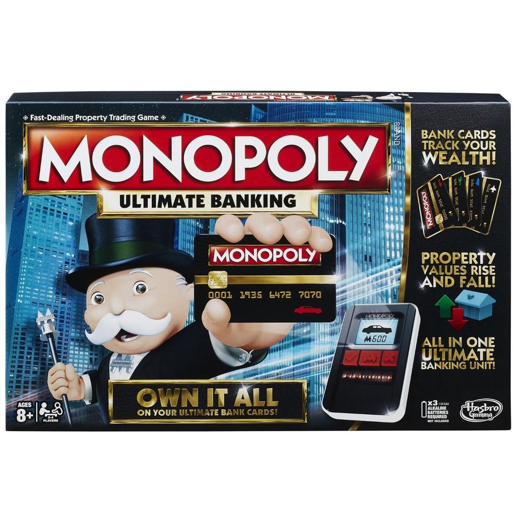 Spiele Hasbro Gra Monopoly Cheaters Edition