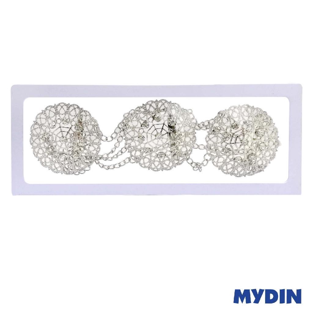 Assorted Dokoh - Rhodium Silver SAXX4D-19
