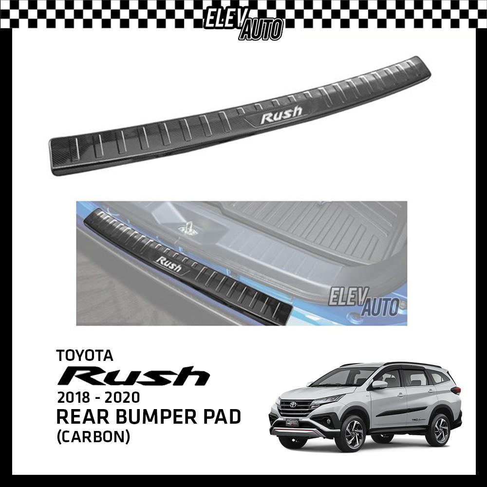 Toyota Rush 2018-2021 Premium Carbon Bumper Guard Bumper Pad