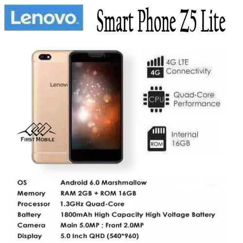 New!! Lenovo Z5 Lite Smart Phone 2GB RAM+16GB ROM