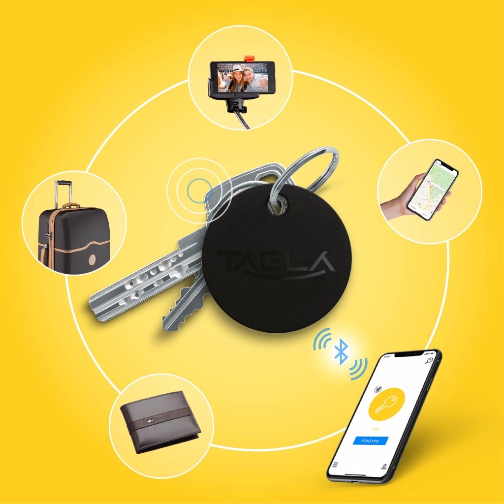 TAG La V2 Bluetooth Tracker Key Finder Item Finder Anti lost alarm device for Security-Key Locator, Wallet Tracker, Pho