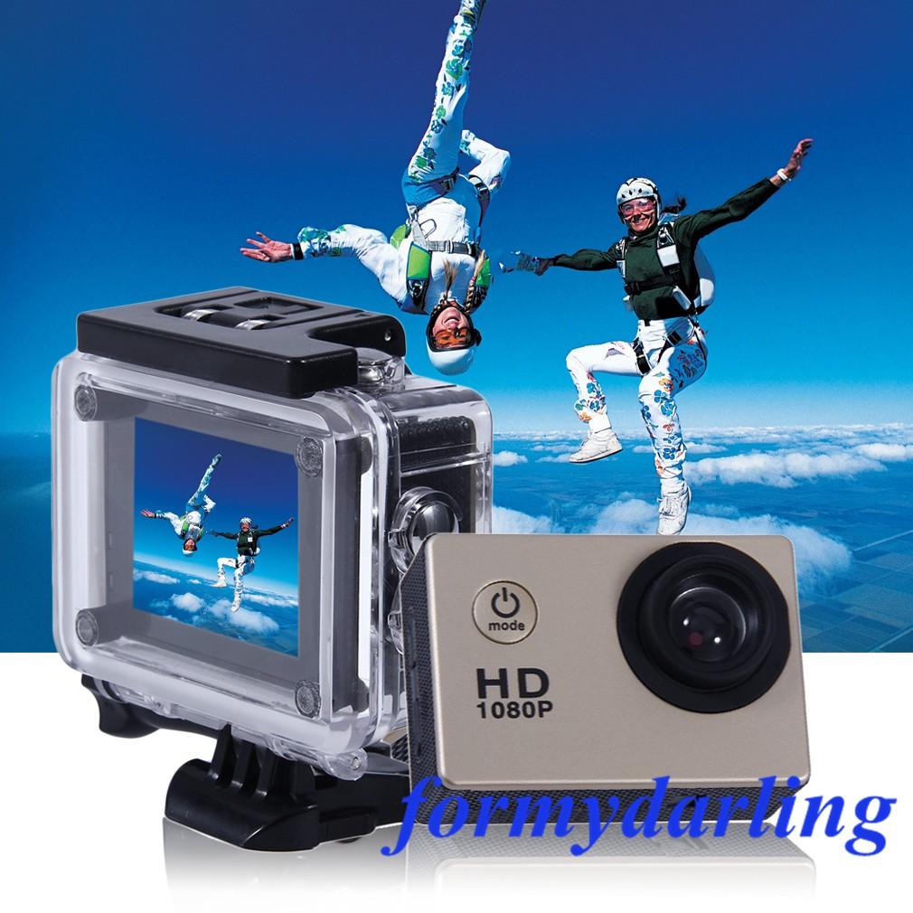 Kogan 1080p Wifi Waterproof Action Camera Sport Sj4000 Sjcam Hd Dv 12mp Water Ressistant Shopee Malaysia