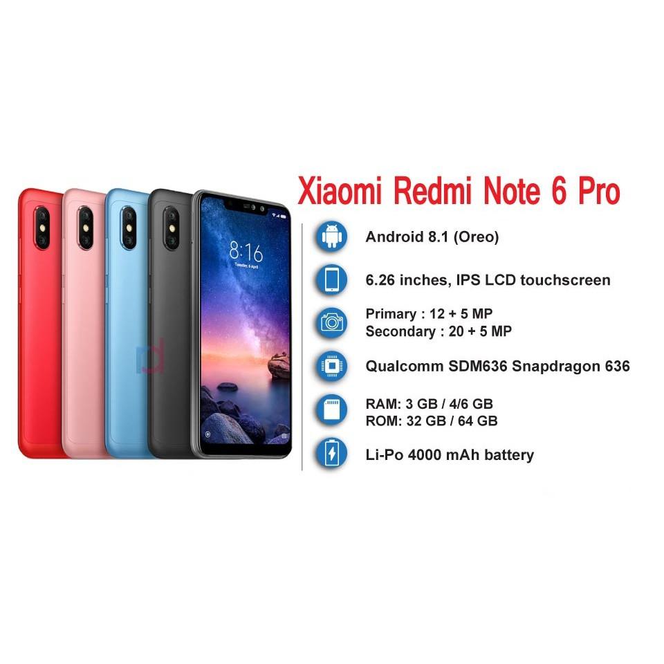 Xiaomi Redmi 6 3gb Ram 32gb Romoriginal Import Set Global Rom S2 3 Internal Shopee Malaysia