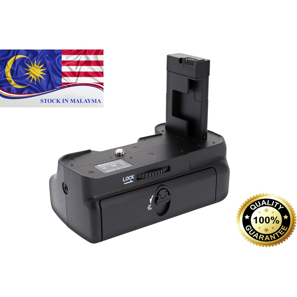 MeiKe MK-D3100 Battery Grip for Nikon D3100 D3200 (Ready Stock In Malaysia)