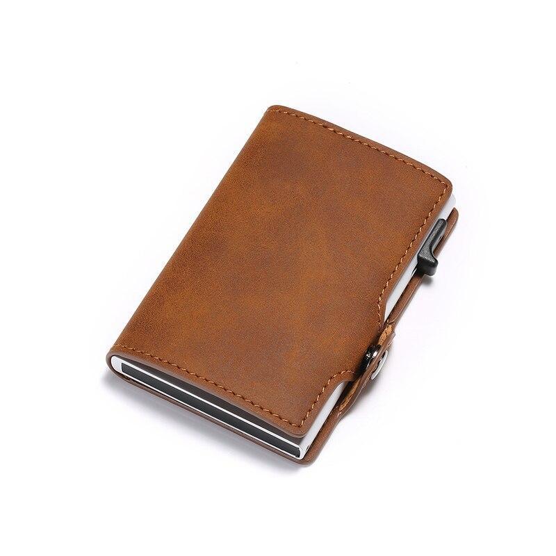 Anti-theft Slim Pocket Wallet ID Credit Card Holder Case Money Clip Purse