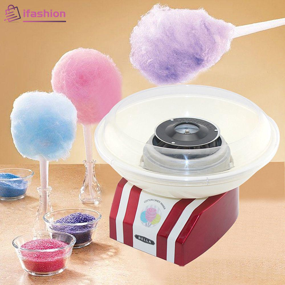 Upgrade Sweet Cotton Candy Maker Electric Mini Diy Cotton Candy Machine Portable Fshn