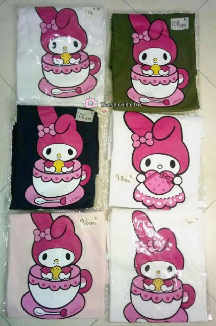 💥💯 💯 👕 COTTON UNISEX TShirt {melody cup} ~white,light pink,black,green L