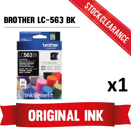 [STOCK CLEARANCE] Brother LC-563 Black Ink Cartridge (2022)