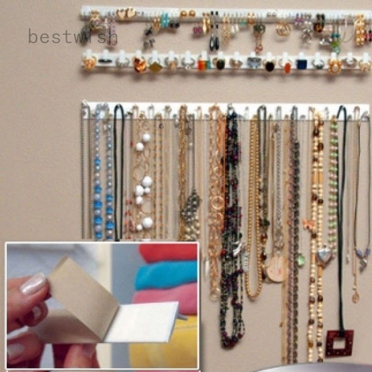 9Pcs Jewelry Wall Hanger Holder Stand Organizer Set Necklace Bracelet Earring M