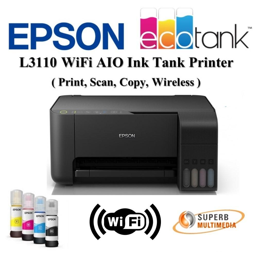 Epson EcoTank L3150 WiFi AIO InkTank printer