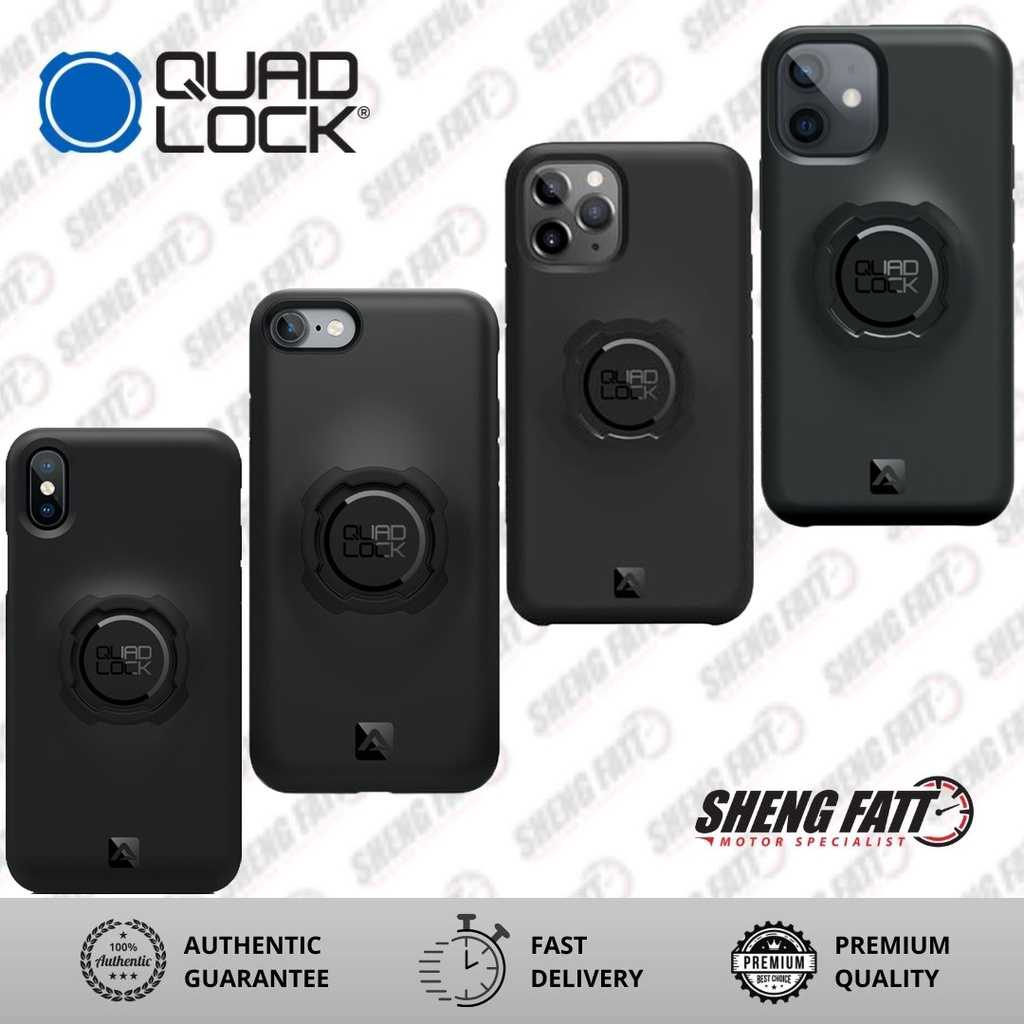Quad Lock Iphone Phone Case (12/ 12Pro/ 12 Pro Max/ 11Pro/ 11 Pro Max/ X/ XS/ 8 Plus/ 7Plus)