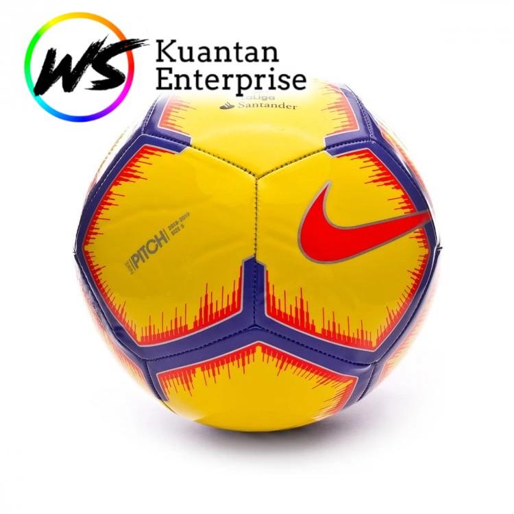 【100% Original】NIKE Football / Bola Sepak / Nike Football Pitch / La Liga Santander  (Size 5)