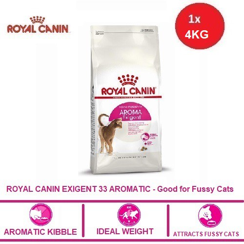 ROYAL CANIN EXIGENT 33 AROMATIC 4KG - Good for Fussy Cats