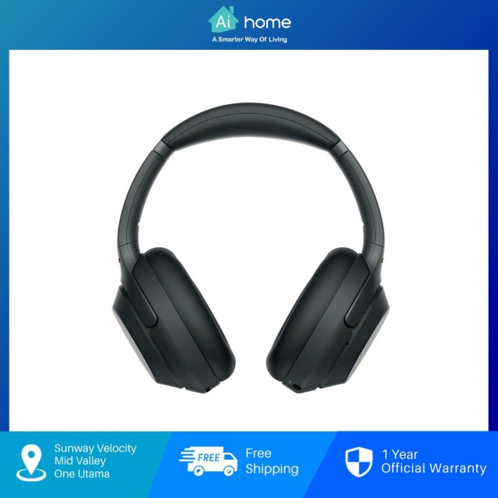 Sony WH-1000XM3 Wireless Noise Cancelling Headphones - Over-the-ear Headphone with EXTRA BASS™ [ Aihome ]