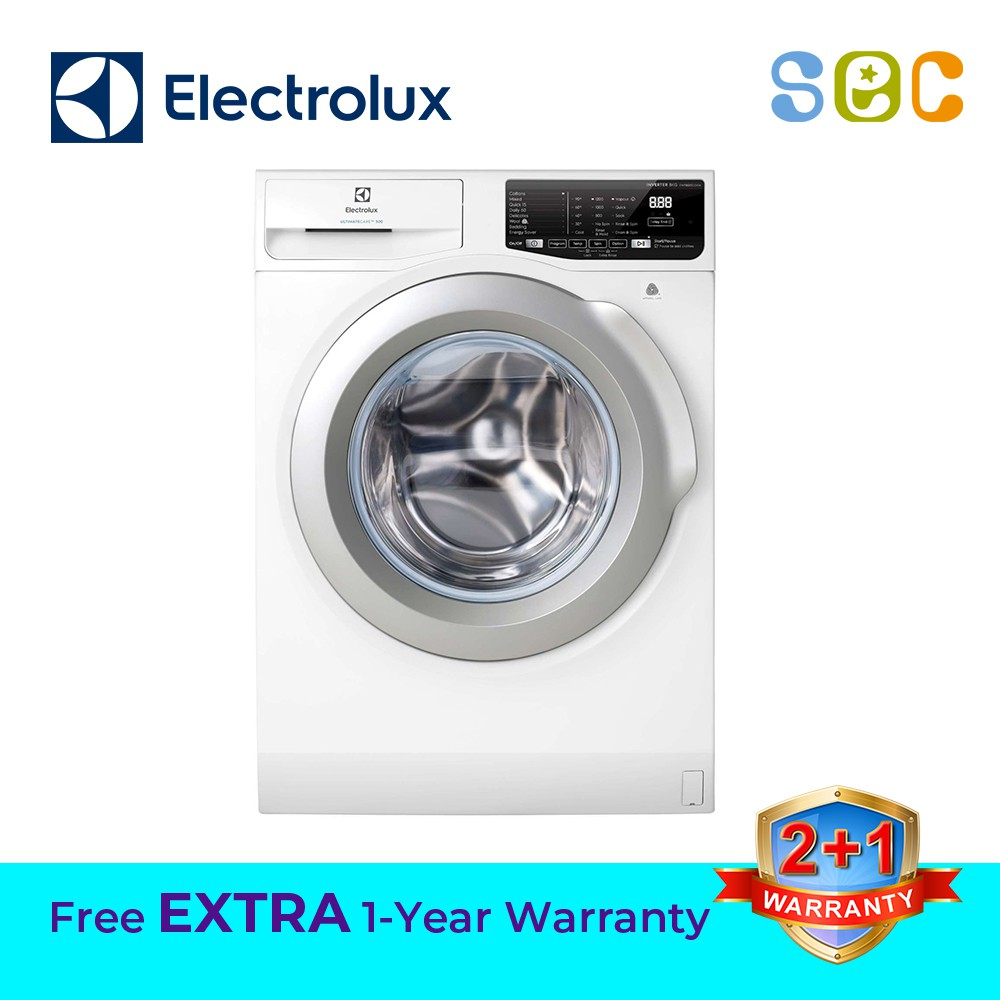 ELECTROLUX 8 0KG IVT FRONT LOAD WASHING MACHINE, EWF8025CQWA