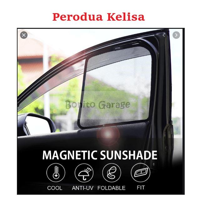 Magnetic Sunshade Perodua Kelisa 4pcs