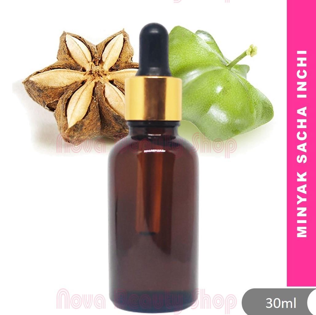 Sacha Inchi Oil Minyak 30ml by I'Nor Plukenetia volubilis sacha peanut, Inca-peanut, kacang omega