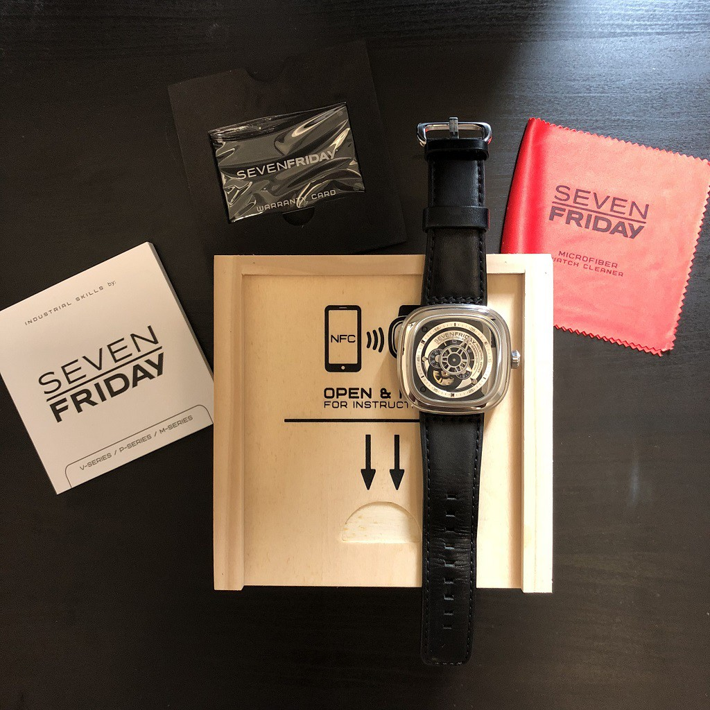 Authentic Sevenfriday P1b 01 100 Original With Purchased Silver Resit Shopee Malaysia