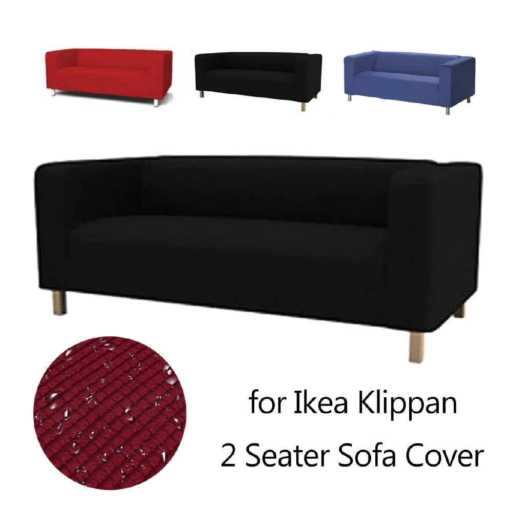 Super Hotslipcover Sofa Sofa Cover Replacement 2 Seater Loveseat Cotton For Ikea Klippan Download Free Architecture Designs Intelgarnamadebymaigaardcom