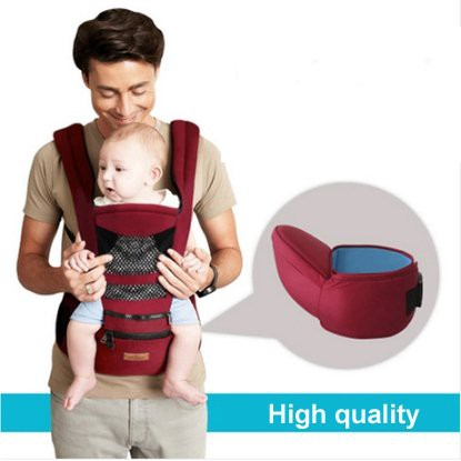367200b0c50 AIEBAO Detachable Multifunctional baby Hip Seat Baby Carrier Backpack Waist
