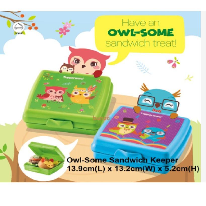 Tupperware: Owl-Some Sandwich Keeper (2) / (1)