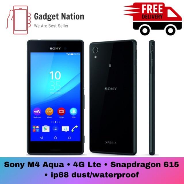 Sony Xperia M4 Aqua 4G LTE(100%Original Sony Device)(Used Perfect Condition)