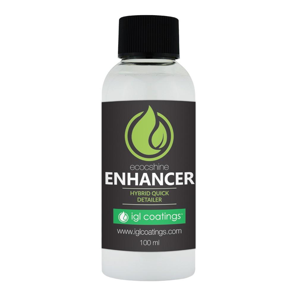 IGL Coatings Ecoshine Enhancer - Car Coating Water Repellent Hydrophobic Surface Enhancer (100ml)
