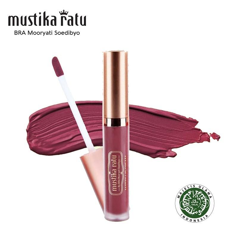 Mustika Ratu Lip Cream Matte Lovely Lily MR 4.7gr