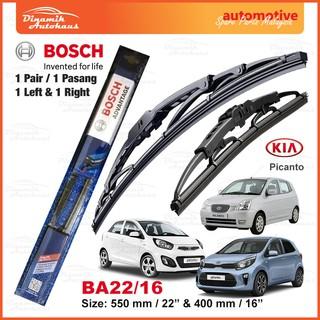 Ford B-Max MPV 2012-/> Front Windscreen Wiper Blades 1 Pair