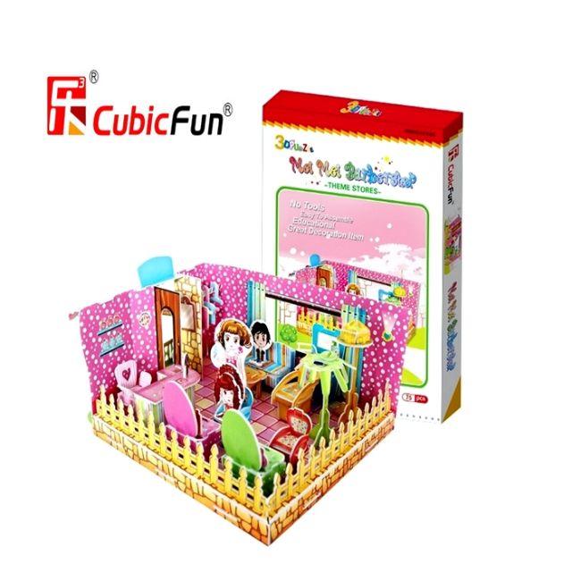 💥 HOT 💥 3D Puzzle Mei Mei Barbershop
