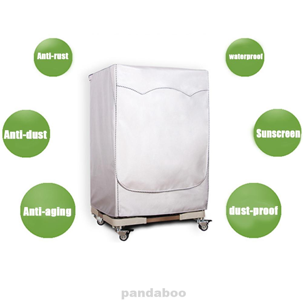 Washing Machine Cover Silver Plated UV-protection Anti