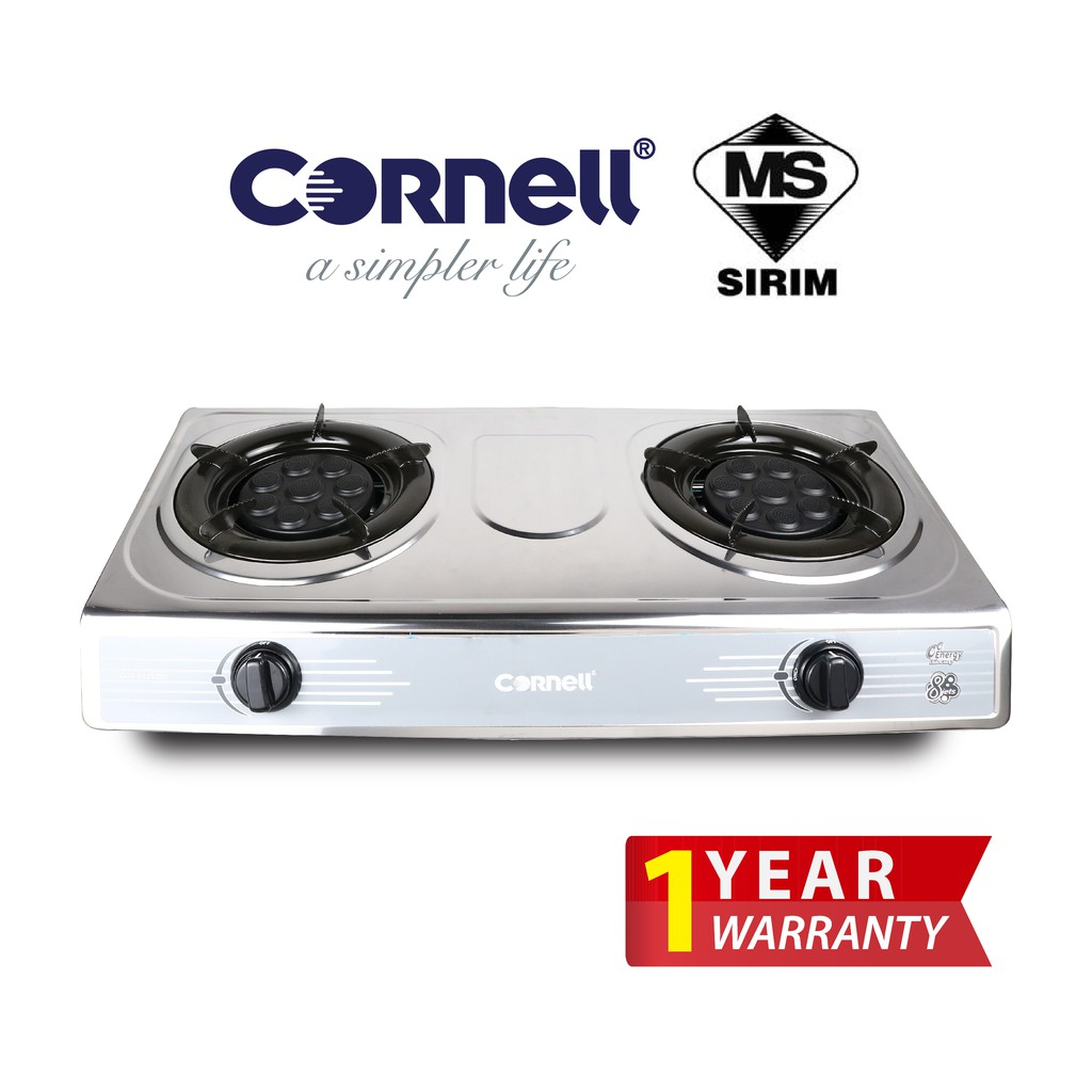 Cornell Stainless Steel Panel Gas Stove CGS-S1252SS