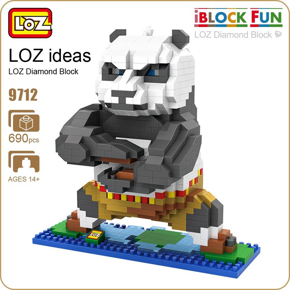 Kung Fu Panda Roblox Id - Loz 9712 Kung Fu Panda Po Animal