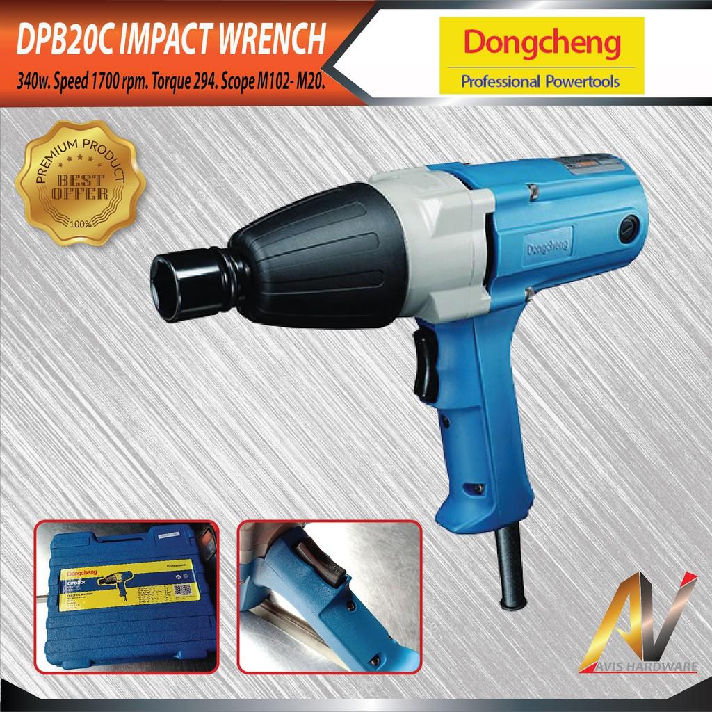 Dong Cheng DPB20C 1/2'' Electric Wrench 340W DPB20C