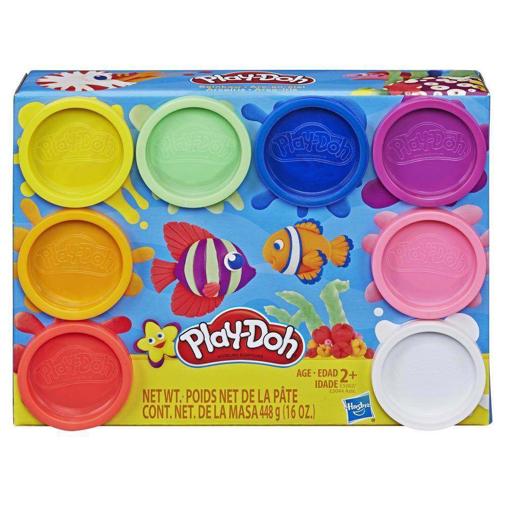 Play-Doh 8-Pack Rainbow Non-Toxic Modelling Compound