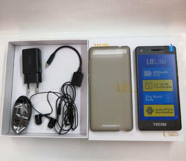 Tecno L8 lite 16GB rom 1GB ram /Battery 4000mAh