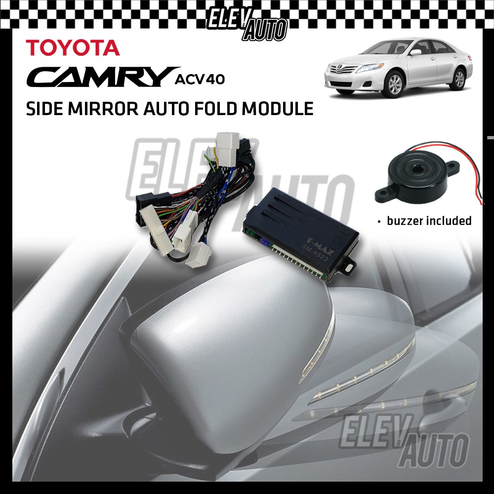 Side Mirror Auto Fold with Buzzer Toyota Camry ACV40 2007-2011